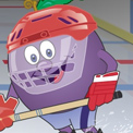 ZONE HOCKEY BIBO (Teletoon / Minute Maid)